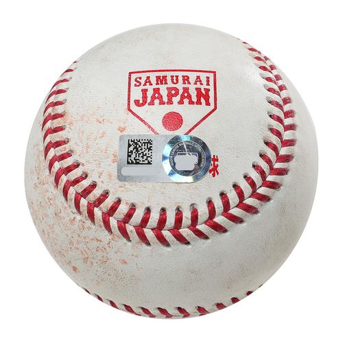 Photo of 2018 Japan Series Game-Used Baseball - Batter: Juan Soto, Pitcher: Shinsaburo Tawata - Ground Out, Top 2nd