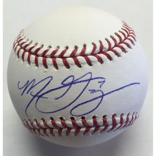 Photo of Marco Gonzales Autographed Baseball