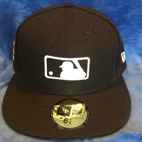Photo of UMPS CARE AUCTION: MLB Specialty Jackie Robinson Day Umpire Base Cap, Size  6 7/8
