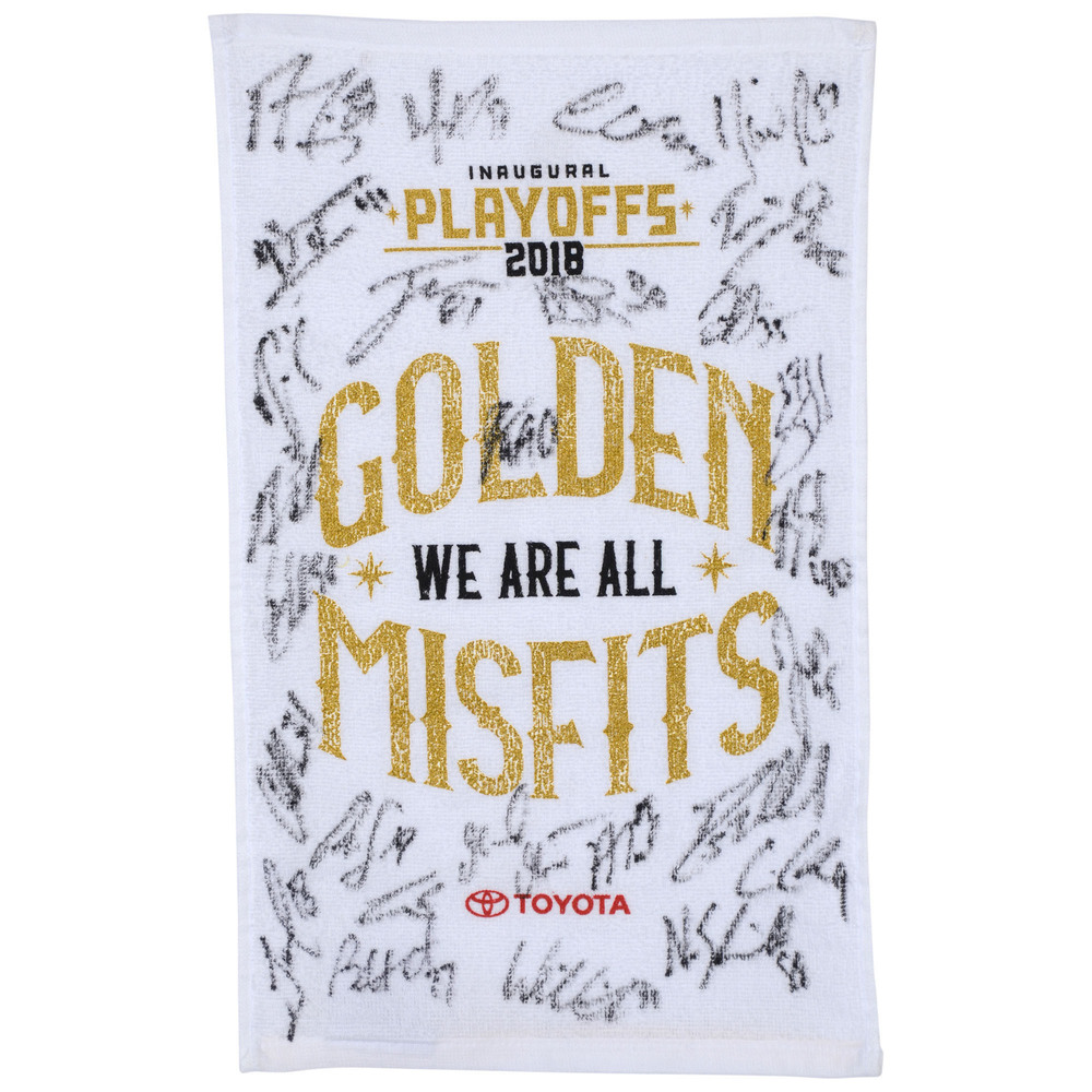 Vegas Golden Knights Autographed Golden Misfits 2018