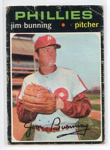 Photo of 1971 Topps #574 Jim Bunning