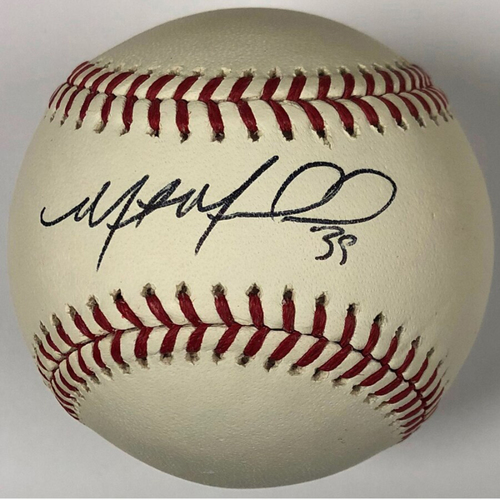 Photo of Cardinals Authentics: St. Louis Cardinals Miles Mikolas Autographed Baseball