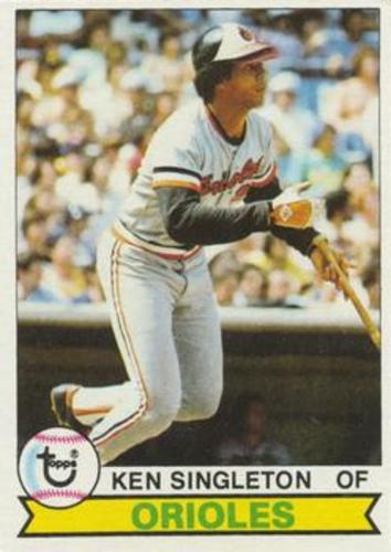 Photo of 1979 Topps #615 Ken Singleton