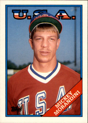 Photo of 1988 Topps Traded #71T Mickey Morandini OLY XRC