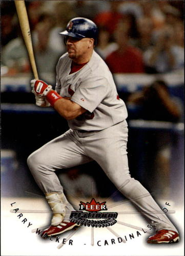 Photo of 2005 Fleer Platinum #54 Larry Walker