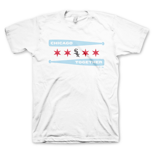 "Photo of White Sox ""Chicago Together"" T-Shirt - White - Choose your Size!"
