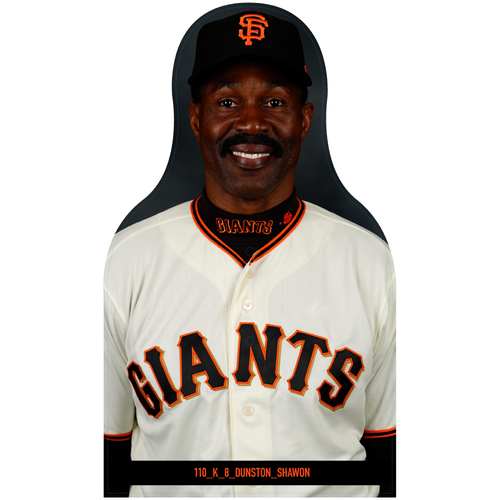Photo of Giants Community Fund: Giants Shawon Dunston Cutout