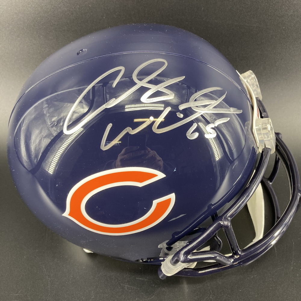 Bears - Cody Whitehair Signed Replica Helmet