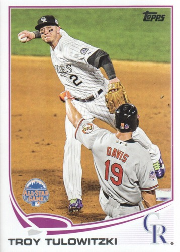 Photo of 2013 Topps Update #US88A Troy Tulowitzki