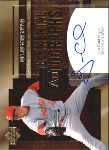 Photo of 2007 Upper Deck Elements Elemental Autographs #CO Jon Coutlangus