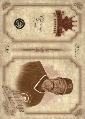Photo of 2004 Diamond Kings Heritage Collection #6 Andre Dawson