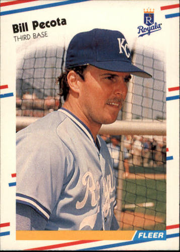 Photo of 1988 Fleer #264 Bill Pecota RC