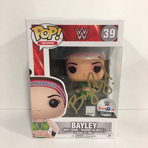 Bayley SIGNED POP! Vinyl Figure