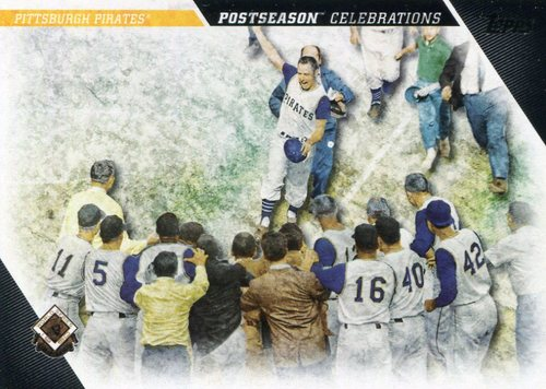 Photo of 2017 Topps Update Postseason Celebration #PC23 Pittsburgh Pirates