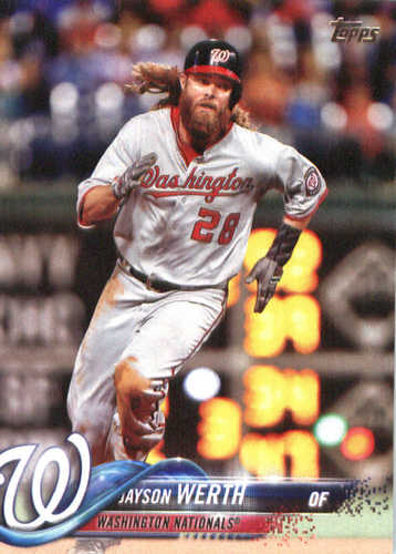 Photo of 2018 Topps #28 Jayson Werth