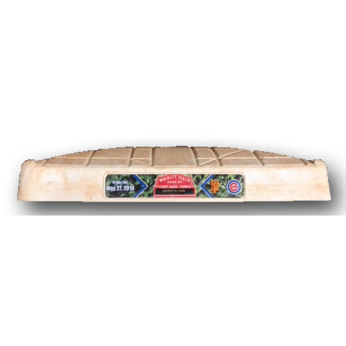 Photo of Game-Used 1st Base -- Cubs vs. Giants -- 5/27/18 -- Used in 1st Inning