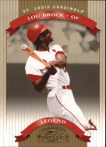 Photo of 2002 Donruss Classics #155 Lou Brock LGD