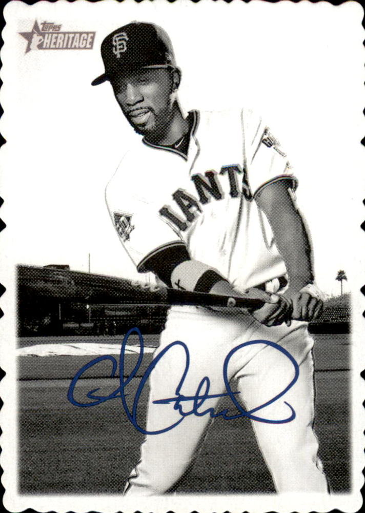 2018 Topps Heritage High Number '69 Topps Deckle Edge #3 Andrew McCutchen