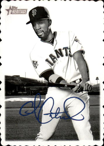 Photo of 2018 Topps Heritage High Number '69 Topps Deckle Edge #3 Andrew McCutchen