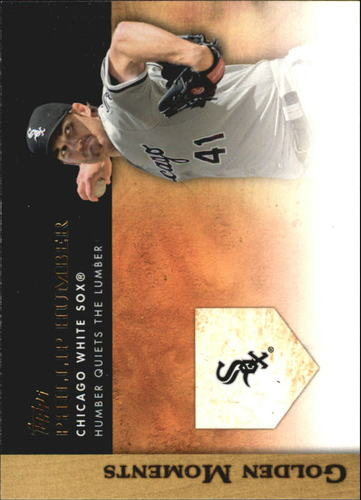 Photo of 2012 Topps Update Golden Moments #GMU7 Philip Humber