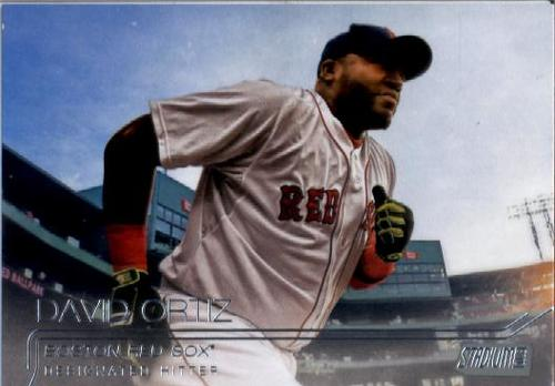 Photo of 2015 Stadium Club #184 David Ortiz