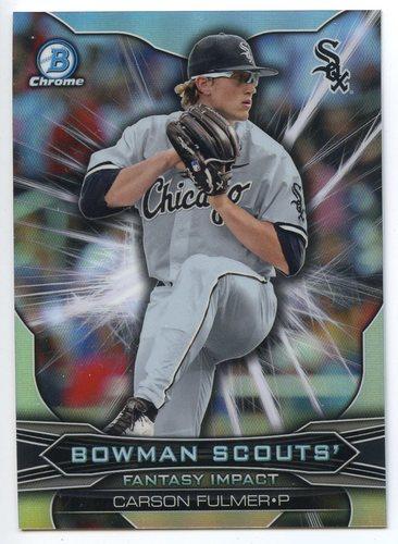 Photo of 2015 Bowman Chrome Draft Scouts Fantasy Impacts #BSICF Carson Fulmer