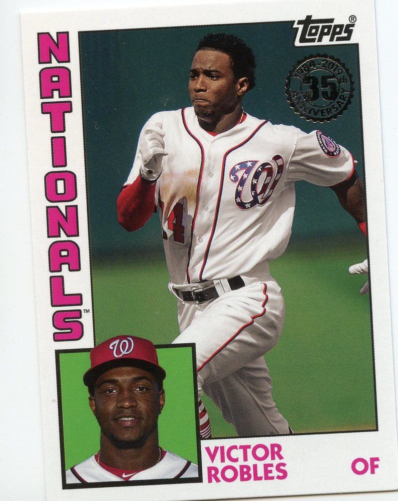 2019 Topps Update '84 Topps #8447 Victor Robles