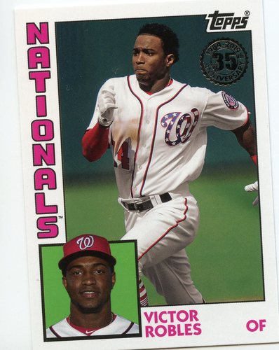 Photo of 2019 Topps Update '84 Topps #8447 Victor Robles