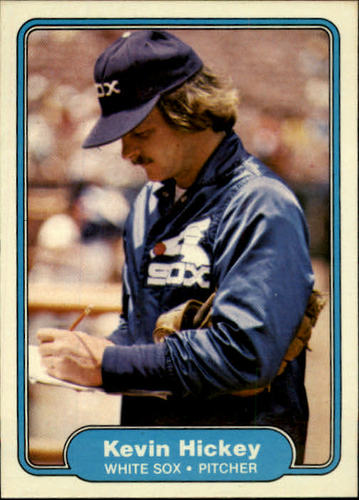 Photo of 1982 Fleer #344 Kevin Hickey RC