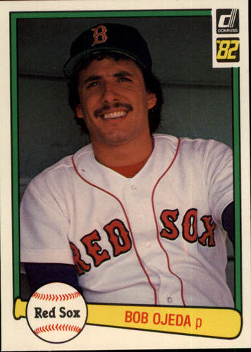 Photo of 1982 Donruss #540 Bob Ojeda RC