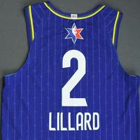 Damian Lillard - 2020 NBA All-Star - Game-Issued Jersey Charity Auction - Team LeBron - 1st and 2nd Quarter