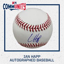 Photo of Ian Happ Autographed Baseball