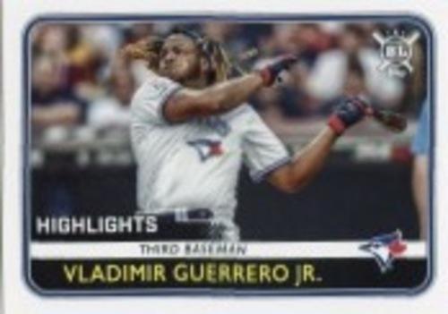 Photo of 2020 Topps Big League #295 Vladimir Guerrero Jr. HL