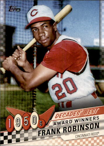 Photo of 2020 Topps Decades' Best #DB7 Frank Robinson