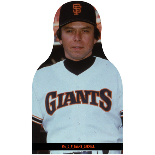 Photo of Giants Community Fund: Giants Darrell Evans Cutout