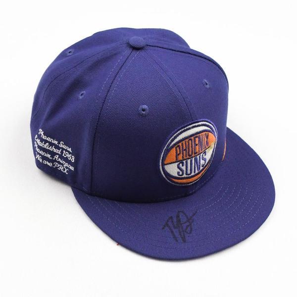 Image of Ty Jerome - Phoenix Suns - 2019 NBA Draft Class - Autographed Hat
