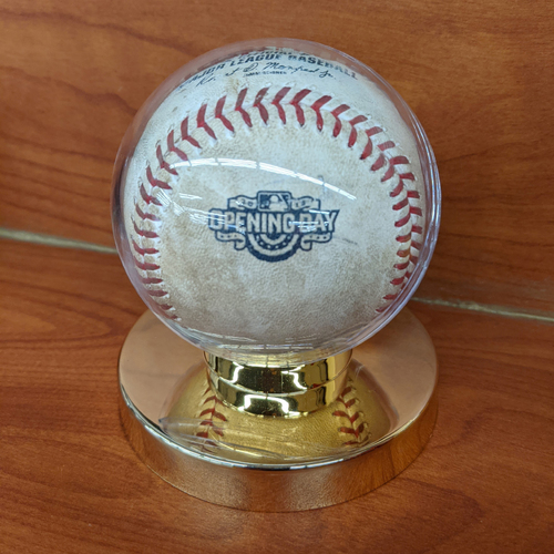 Photo of April 6, 2015 Red Sox at Phillies Opening Day Game Used Baseball - Jake Diekman to Allen Craig Foul