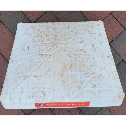 Photo of 2nd Base: Game-Used - Armed Forces Day