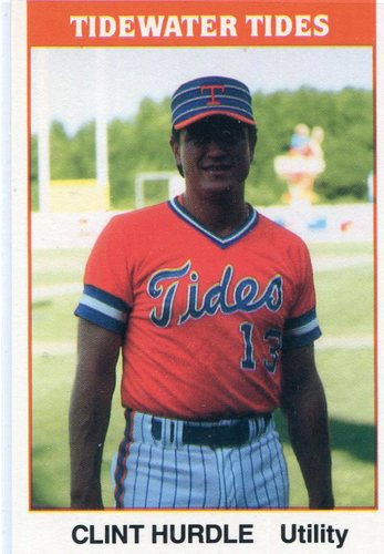 Photo of 1987 Tidewater Tides TCMA #22 Clint Hurdle