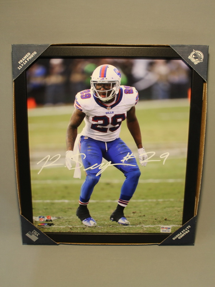 BILLS - KEVON SEYMOUR 11X14 SIGNED FRAMED PHOTO