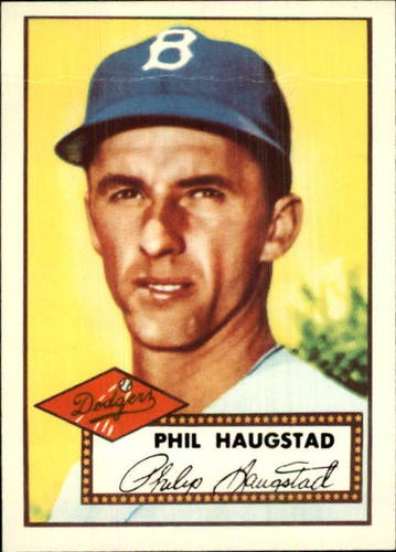 Photo of 1983 Topps 1952 Reprint #198 Phil Haugstad