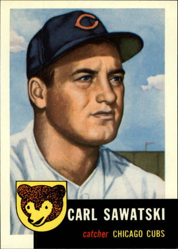 Photo of 1991 Topps Archives 1953 #202 Carl Sawatski