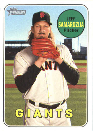 Photo of 2018 Topps Heritage #197 Jeff Samardzija