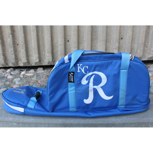 Photo of Team-Issued Spring Training Bat Bag: Bubba Starling