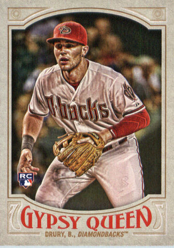 Photo of 2016 Topps Gypsy Queen #287 Brandon Drury RC