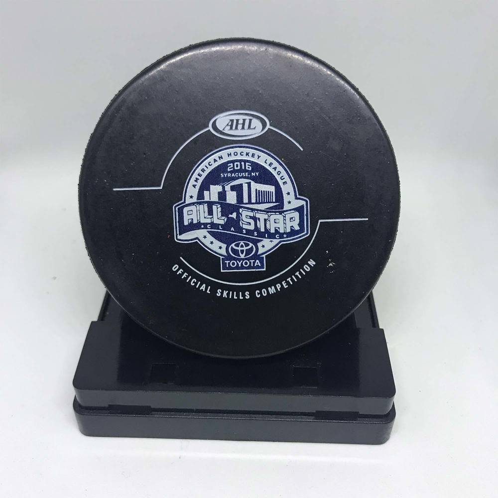 2016 Skills Competition ASC Turning Stone Resort Casino Accuracy Shooting-Used Puck- #3 TJ Brennan