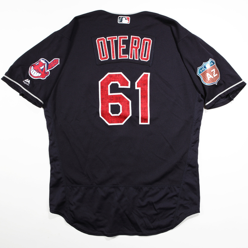 Photo of 2016  Spring Training -  Game-Used Jersey - Danny Otero (Indians) - Size 48