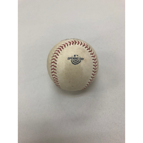 Photo of Toronto Blue Jays vs Boston Red Sox April 9, 2019 - Game Used Opening Day Baseball
