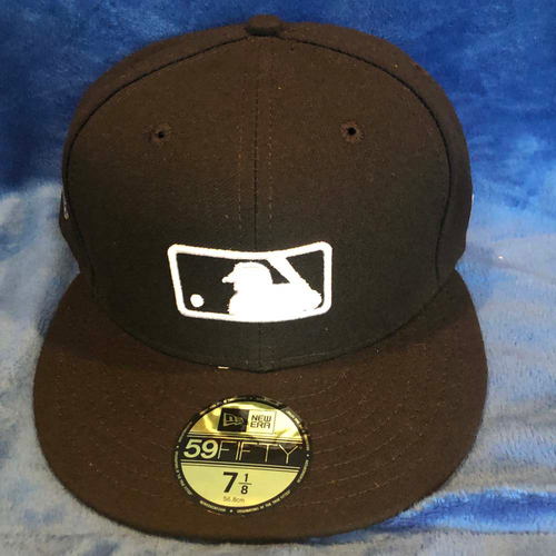 Photo of UMPS CARE AUCTION: MLB Specialty Jackie Robinson Day Umpire Cap, Size 7 1/8