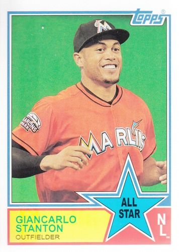 Photo of 2013 Topps Archives 1983 All-Stars #GS Giancarlo Stanton